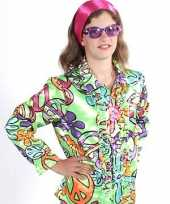 Hippie shirts peace kinderen carnavalskleding