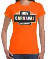Natural beauty miss carnavalskleding shirt orane dames